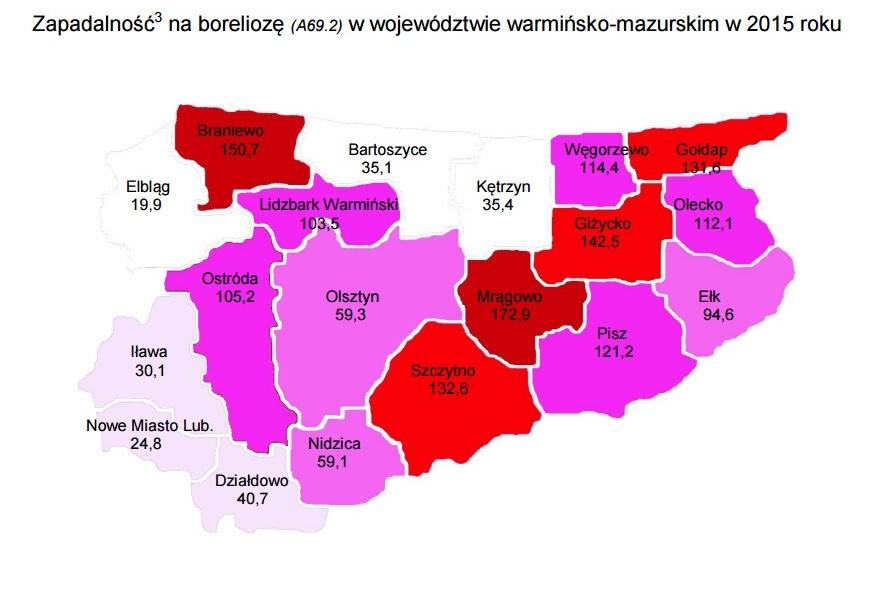 Źródło: WSSE w Olsztynie